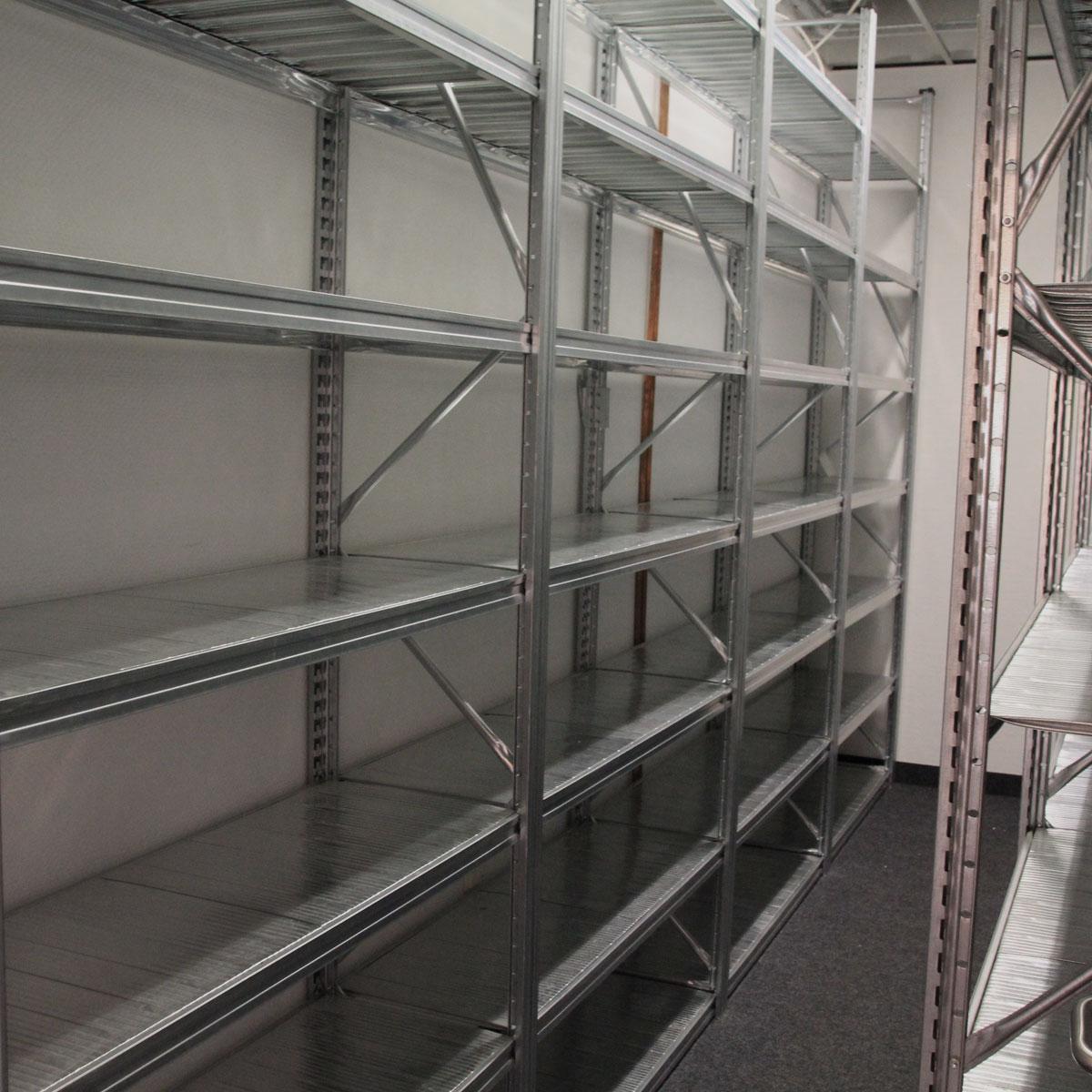 Regal für 20' Container - Regal-20 (Typ M5)