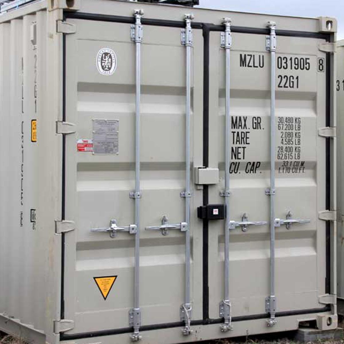 Festverschraubtes Containerschloss - VdS zertifiziert / Containerverriegelung