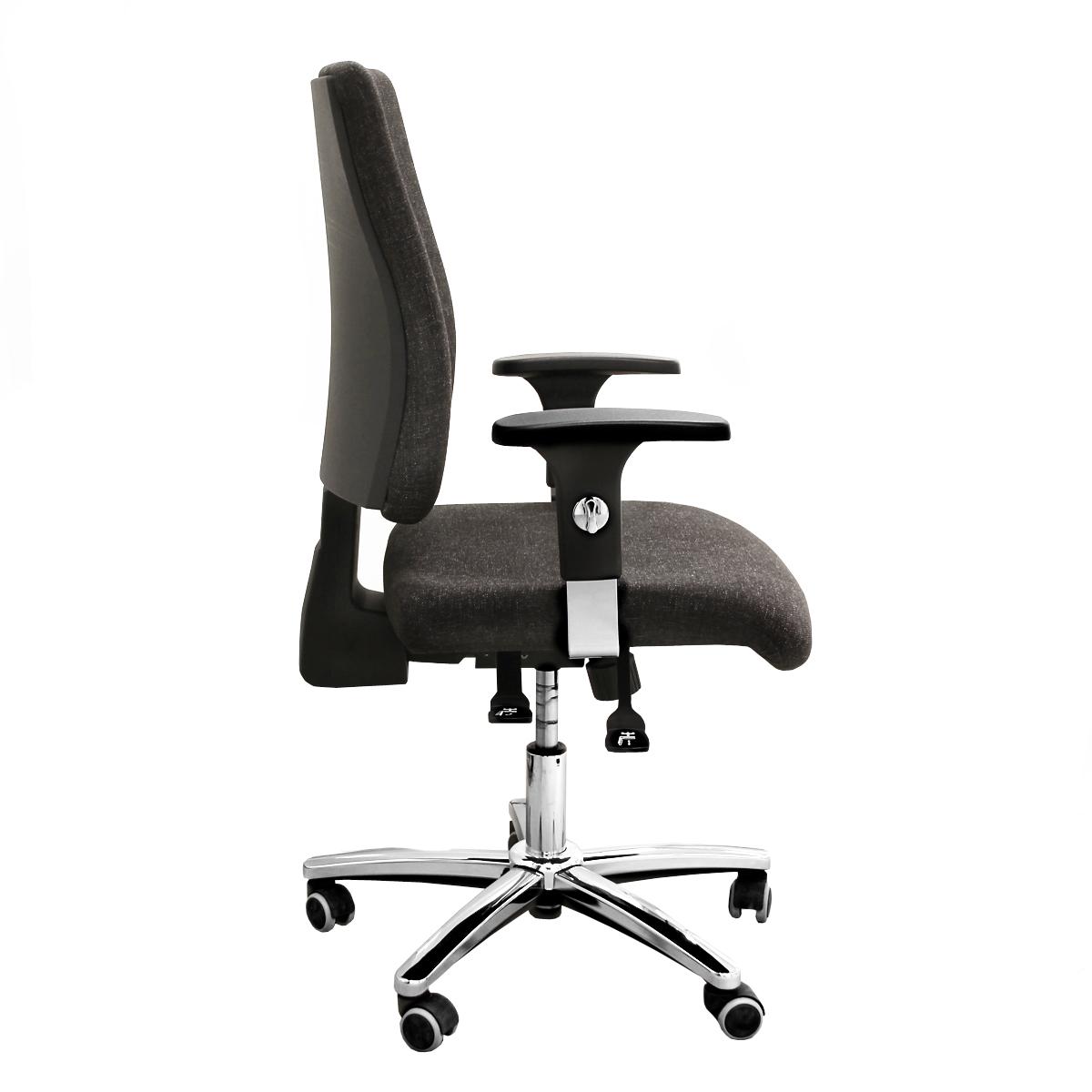 """Hochwertiger Büro-Drehstuhl """"Comfort"""" inkl. Armlehnen"""