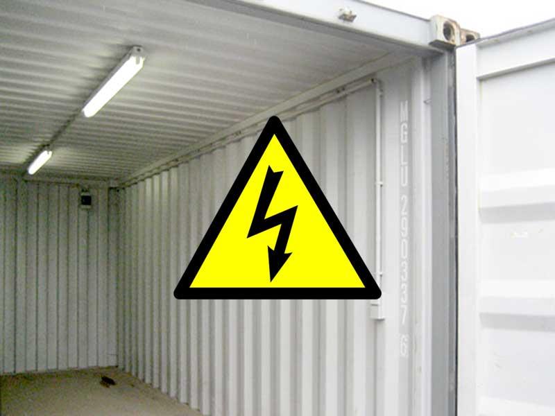 Elektroset für 20' Lagercontainer